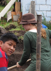 Environment Volunteering in the Andes