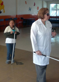 Deaf and Blind Children care and teaching - Teaching Volunteering in Quito